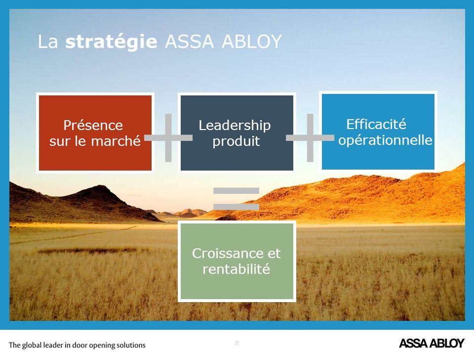 La stratégie ASSA ABLOY