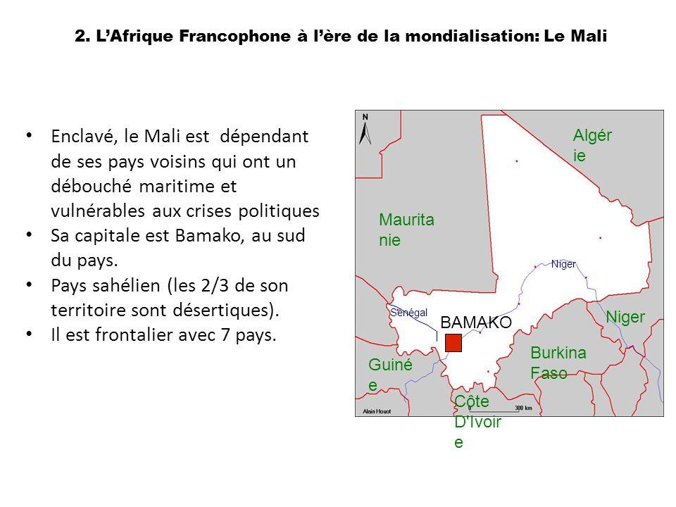 2. L'Afrique Francophone à l'ère de la mondialisation: Le Mali