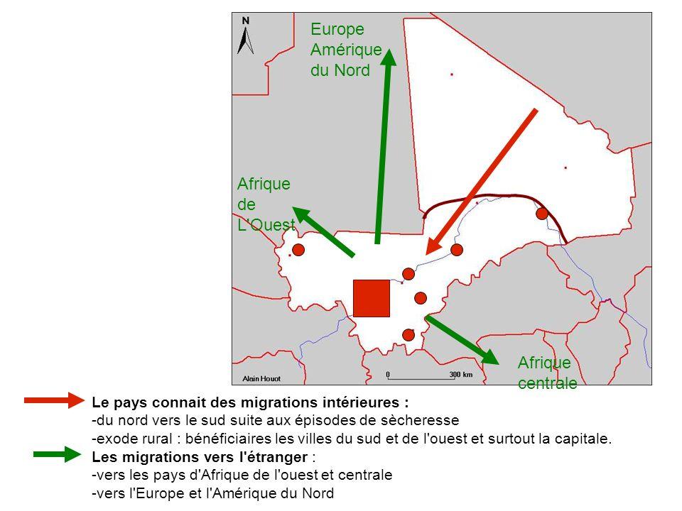 Europe Amérique du Nord Afrique de L Ouest Afrique centrale