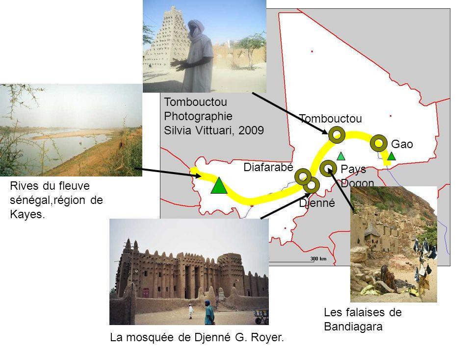 Tombouctou Photographie Silvia Vittuari, 2009. Tombouctou. Gao. Diafarabé. Pays Dogon. Rives du fleuve sénégal,région de Kayes.
