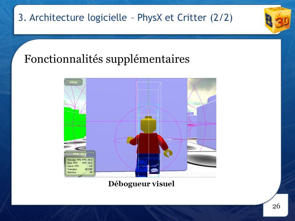 3. Architecture logicielle – Gestion de projet