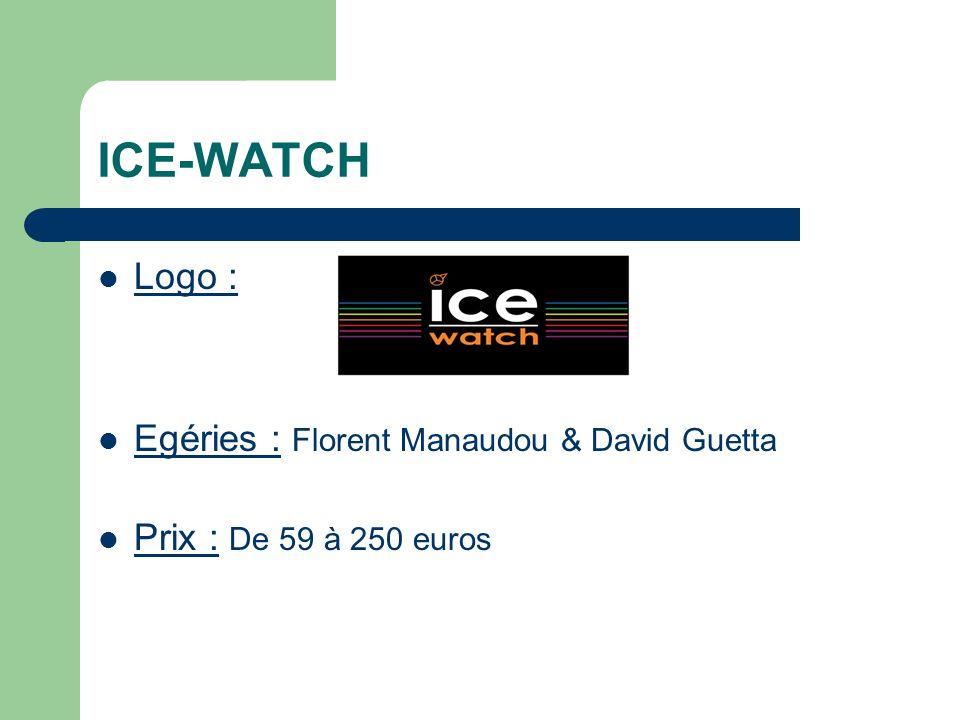 ICE-WATCH Logo : Egéries : Florent Manaudou & David Guetta
