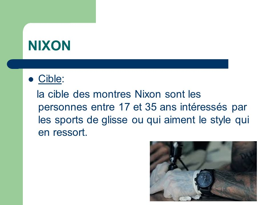 NIXON Cible: