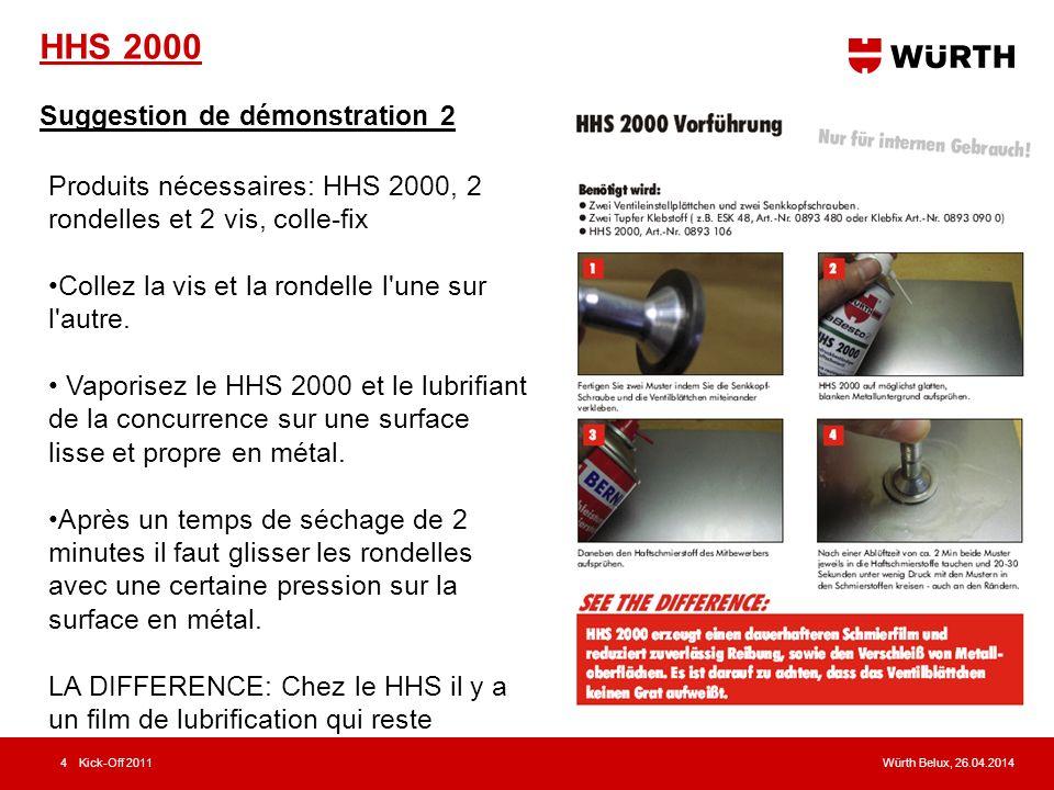 HHS 2000 Suggestion de démonstration 2