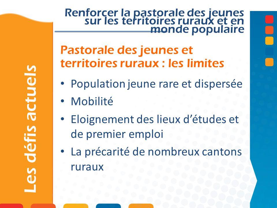 Pastorale des jeunes et territoires ruraux : les limites
