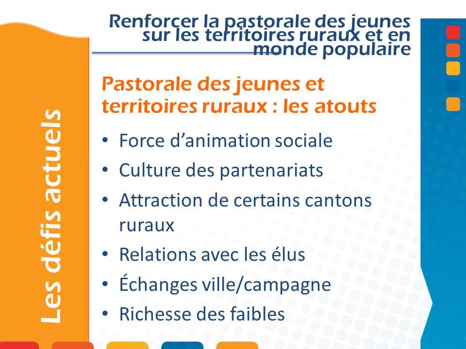 Pastorale des jeunes et territoires ruraux : les atouts
