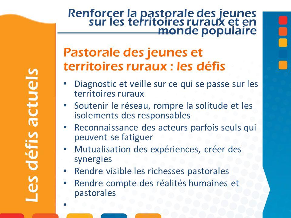 Pastorale des jeunes et territoires ruraux : les défis