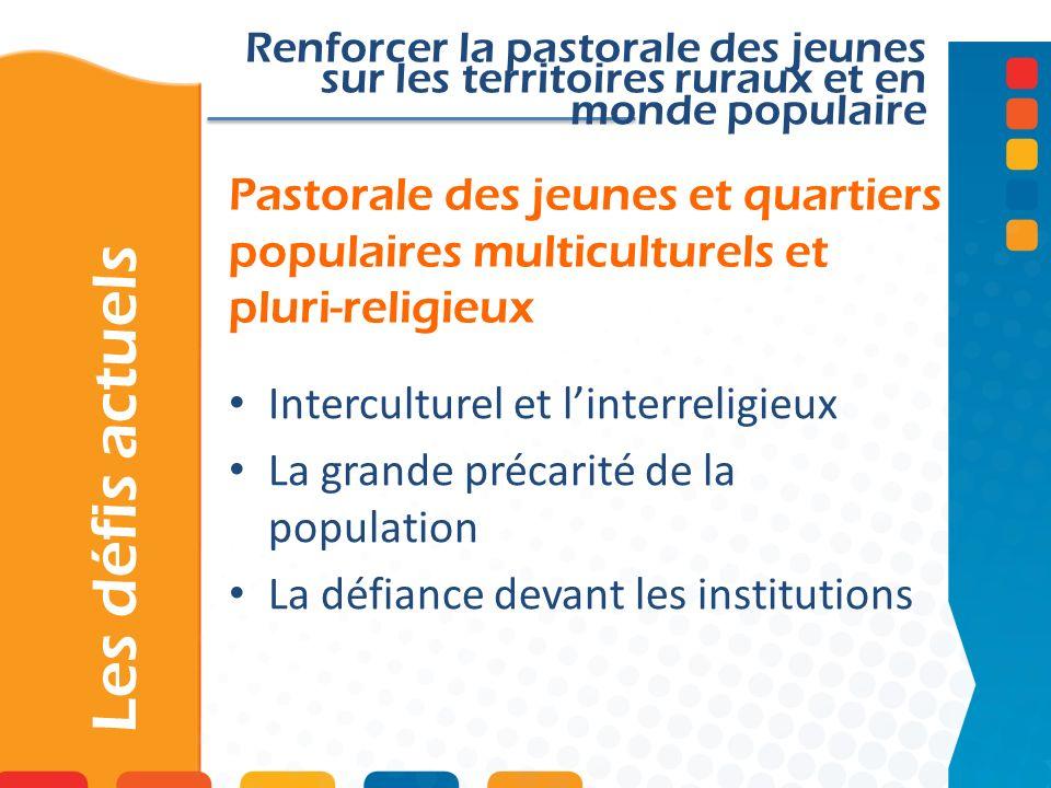 Renforcer la pastorale des jeunes sur les territoires ruraux et en monde populaire