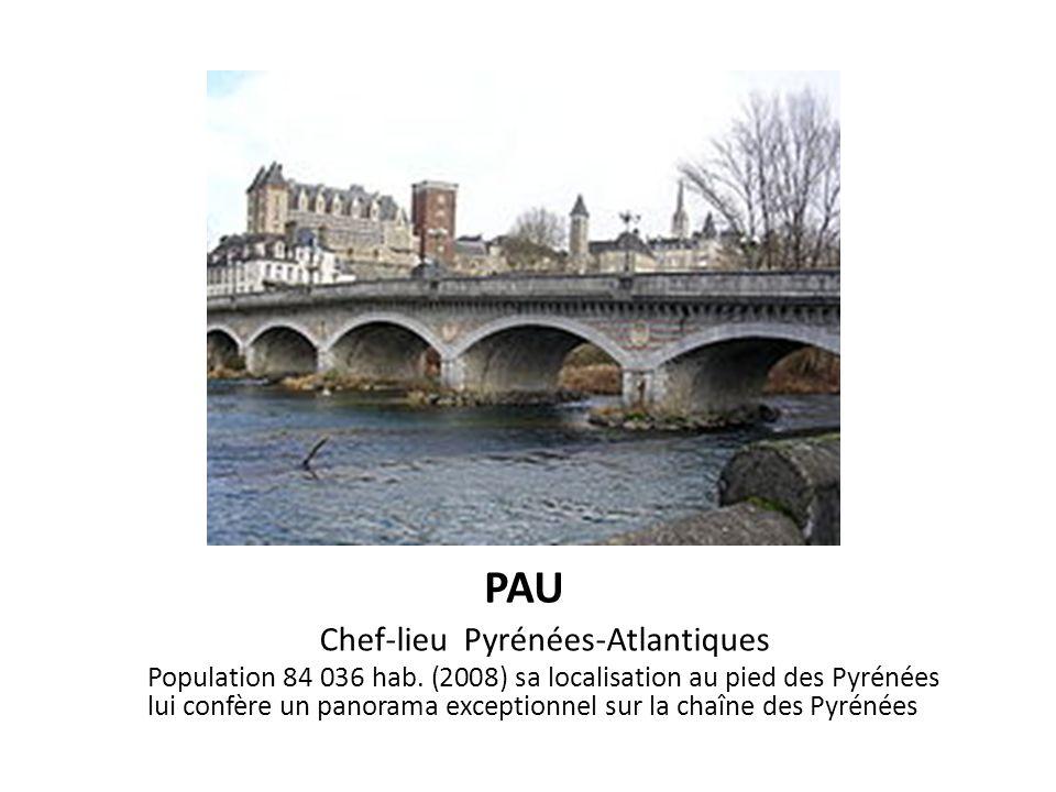 Chef-lieu Pyrénées-Atlantiques
