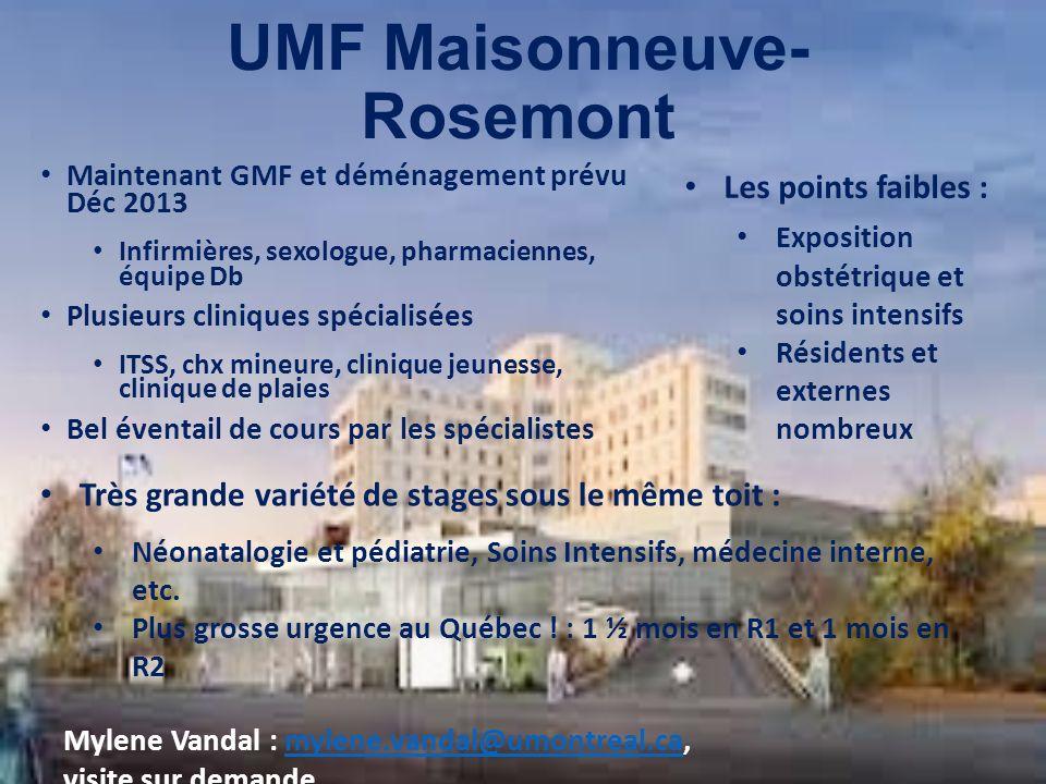 UMF Maisonneuve-Rosemont