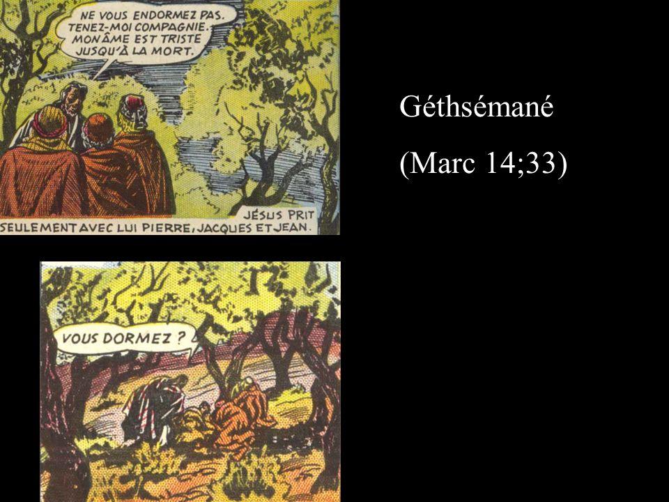 Géthsémané (Marc 14;33)