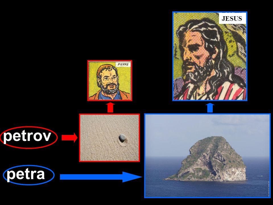 JESUS petrov petra