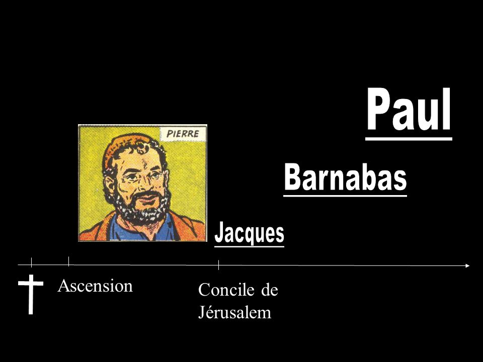Paul Barnabas Jacques Ascension Concile de Jérusalem