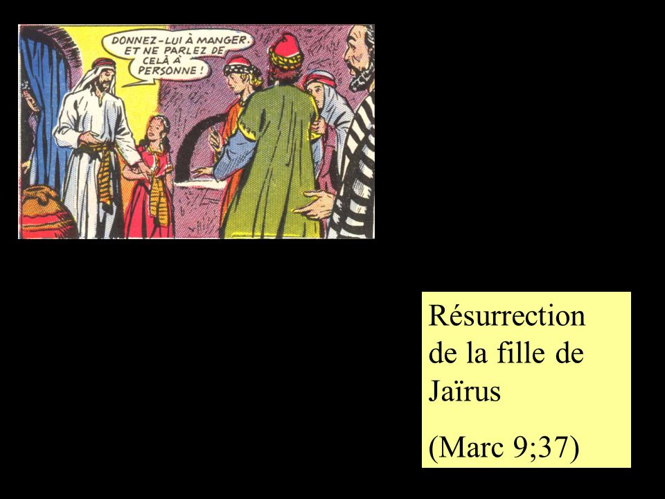 Résurrection de la fille de Jaïrus