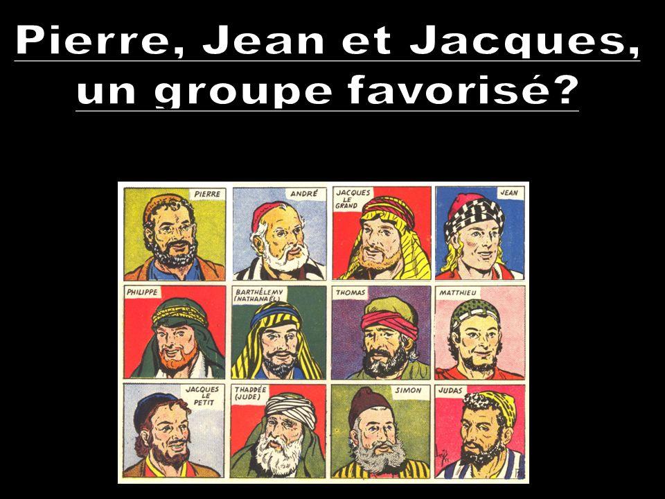 Pierre, Jean et Jacques, un groupe favorisé