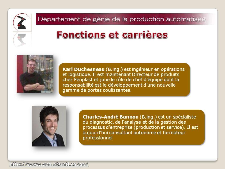 Fonctions et carrières
