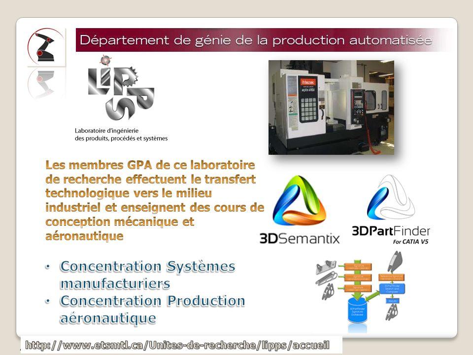 Concentration Systèmes manufacturiers