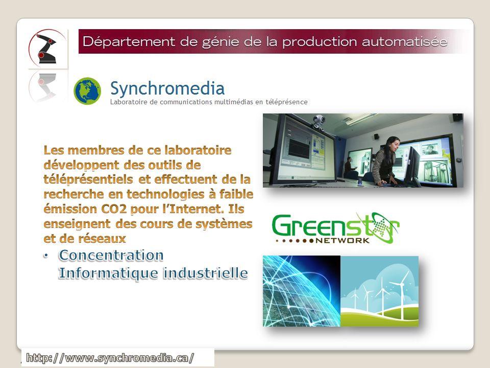 Concentration Informatique industrielle