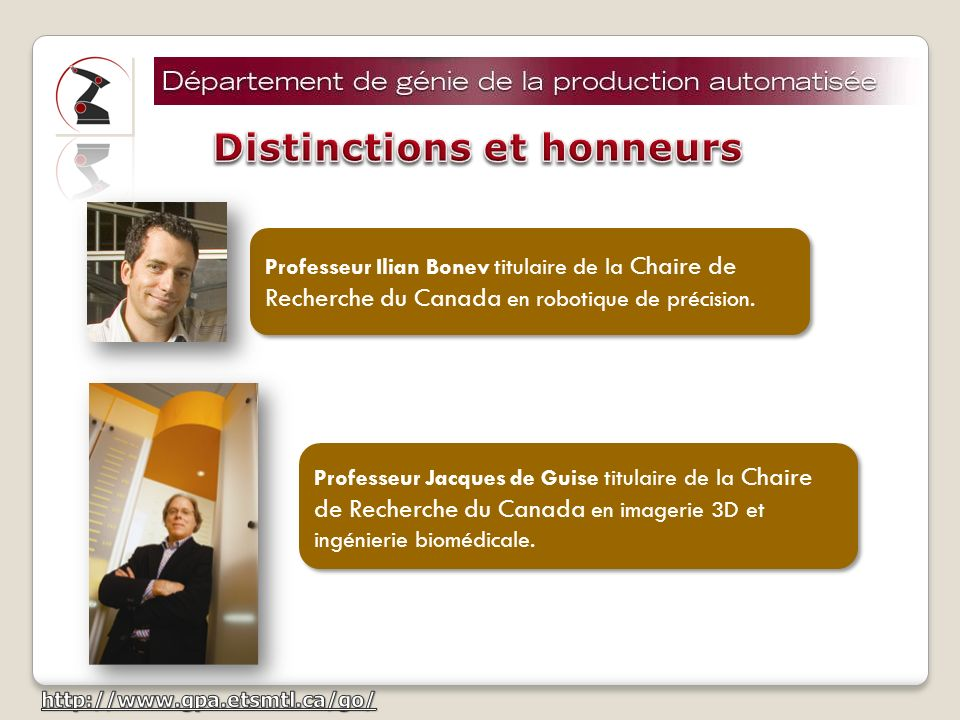 Distinctions et honneurs