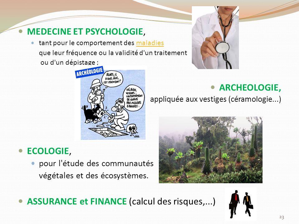 MEDECINE ET PSYCHOLOGIE,