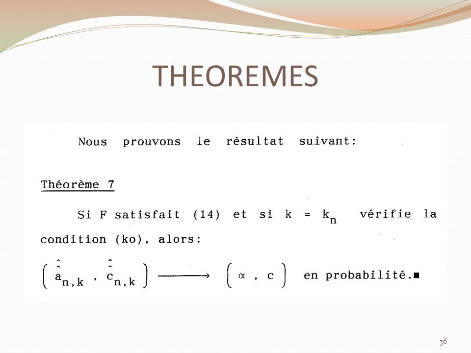 THEOREMES