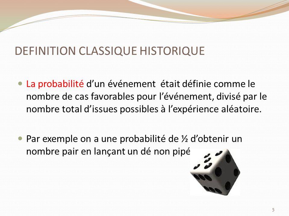 DEFINITION CLASSIQUE HISTORIQUE