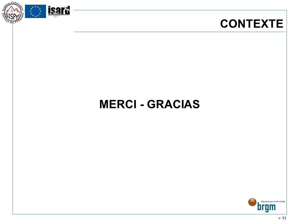CONTEXTE MERCI - GRACIAS