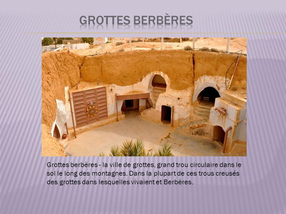 grottes berbères
