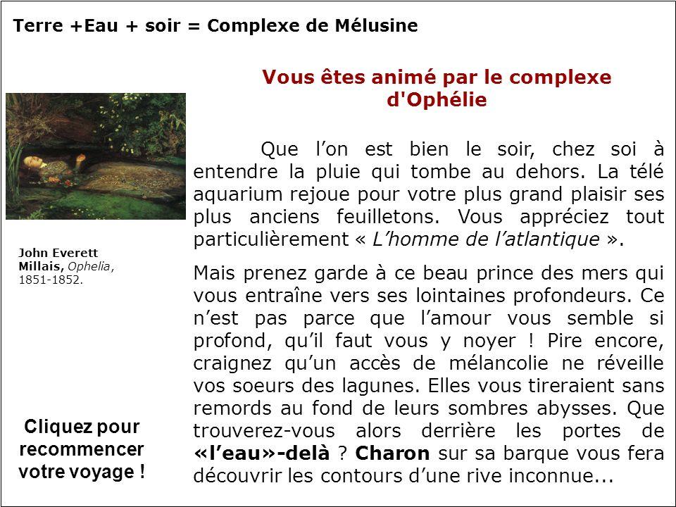 Vous êtes animé par le complexe d Ophélie