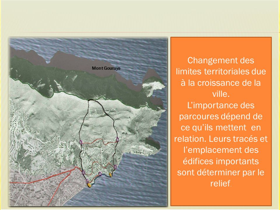 Changement des limites territoriales due à la croissance de la ville.