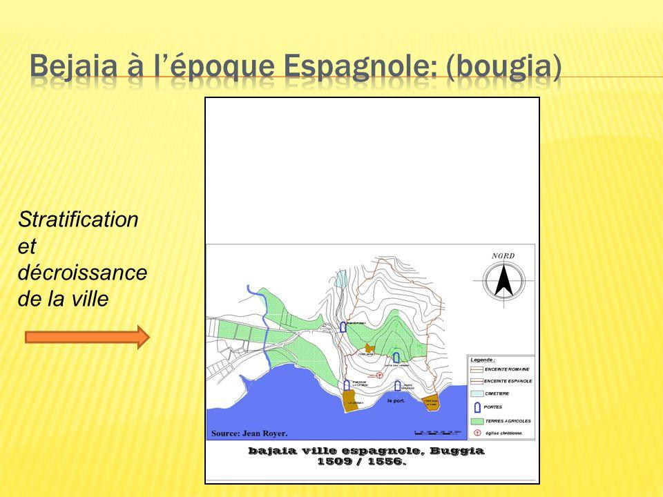 Bejaia à l'époque Espagnole: (bougia)
