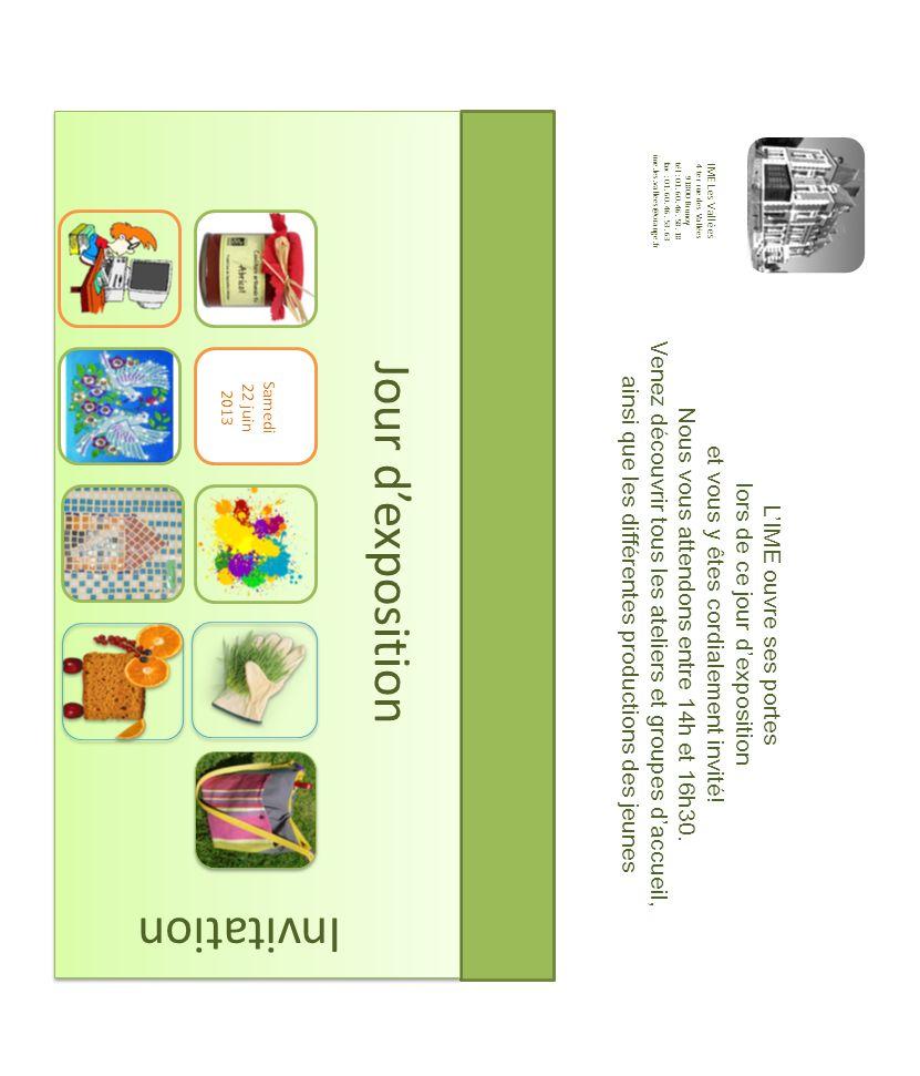 Jour d'exposition Invitation