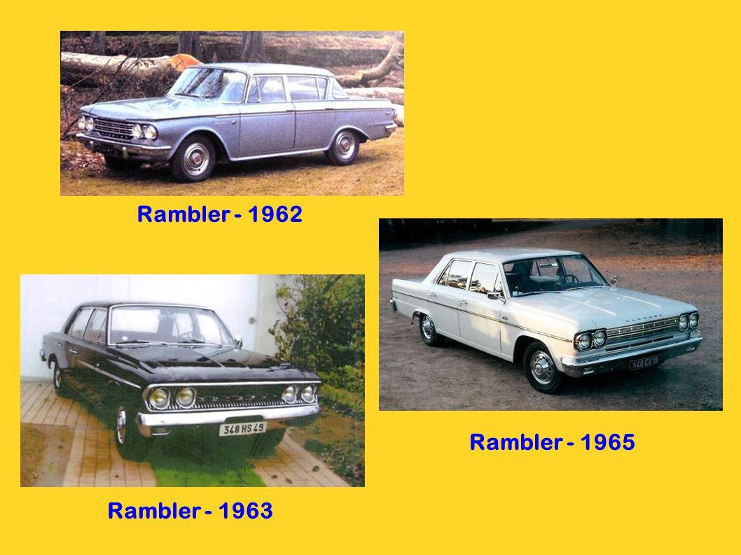 Rambler - 1962 Rambler - 1965 Rambler - 1963