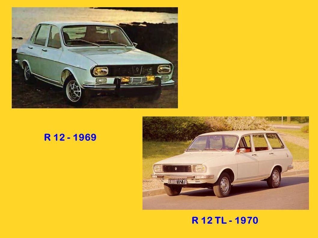 R 12 - 1969 R 12 TL - 1970
