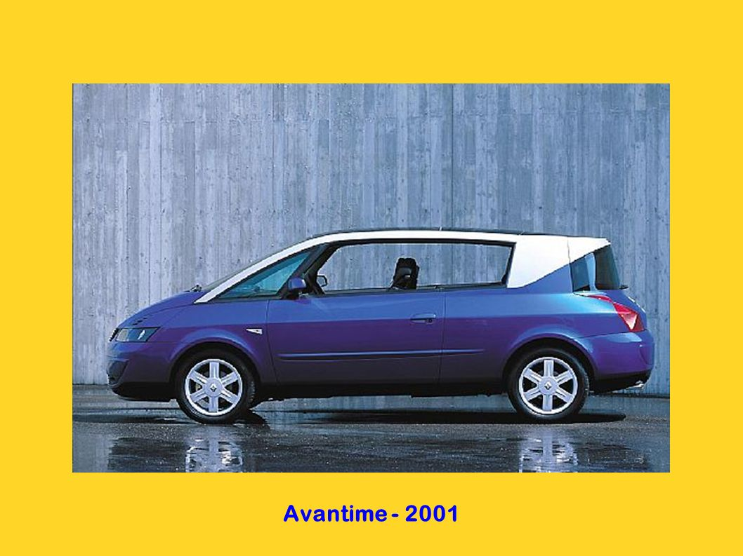 Avantime - 2001