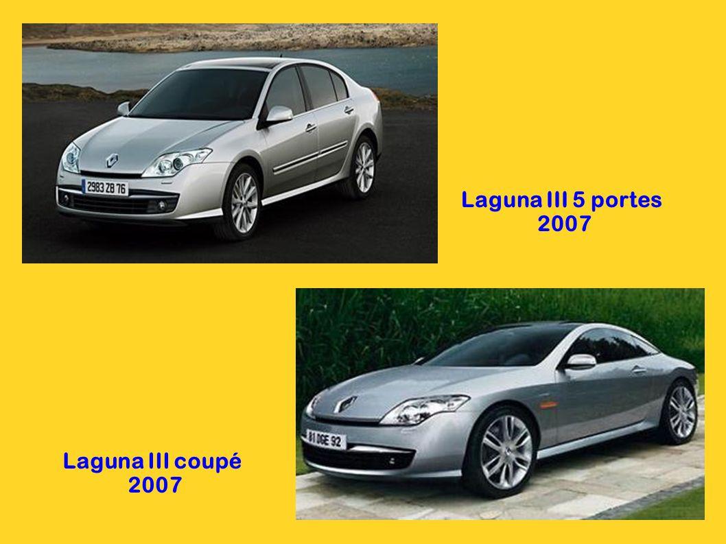 Laguna III 5 portes 2007 Laguna III coupé 2007