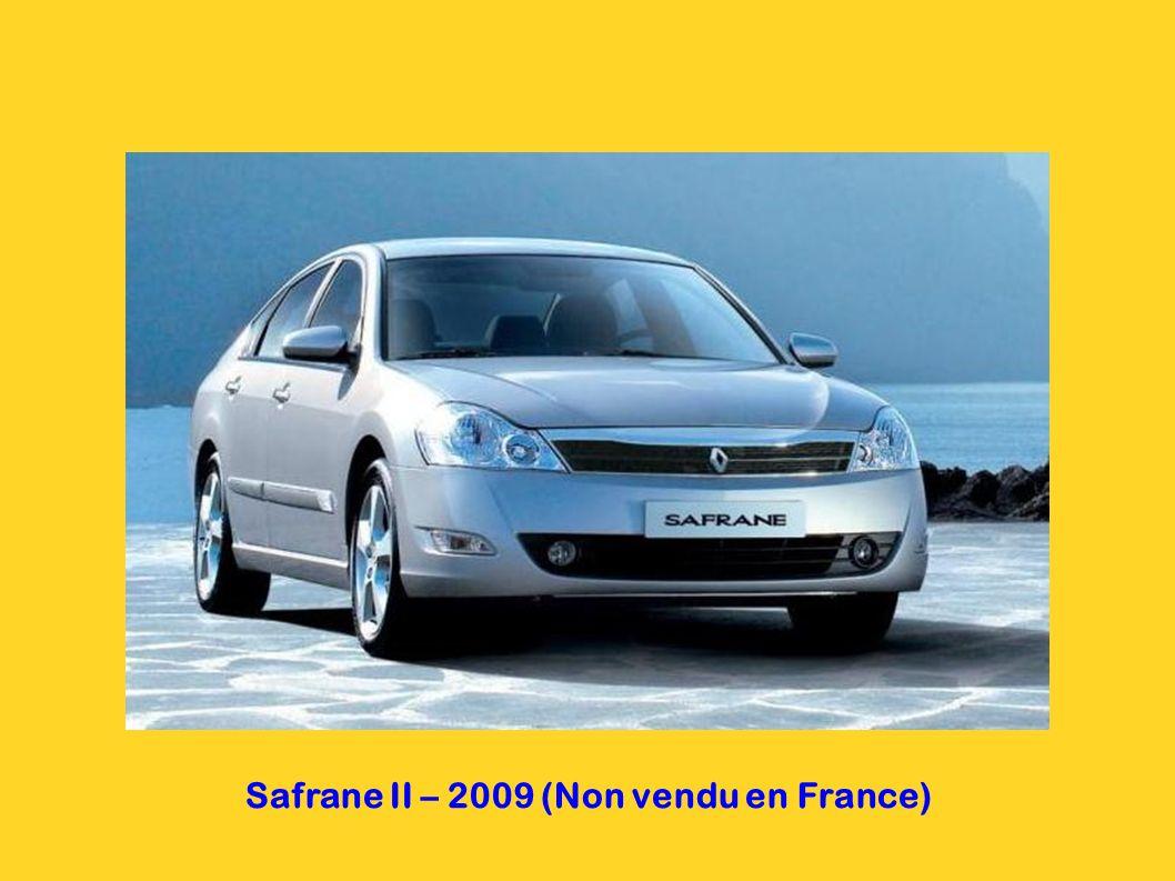 Safrane II – 2009 (Non vendu en France)