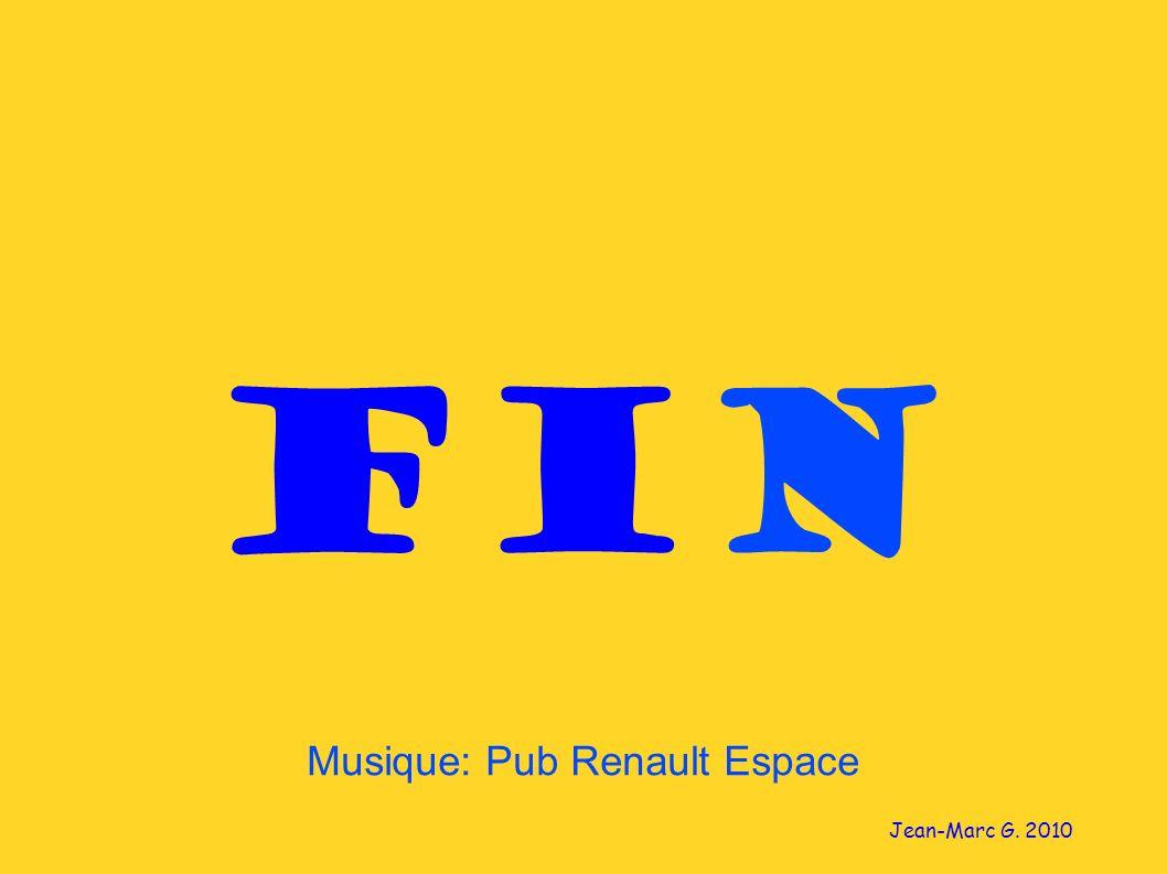Musique: Pub Renault Espace