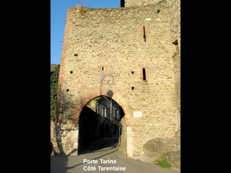 Porte Tarine Côté Tarentaise