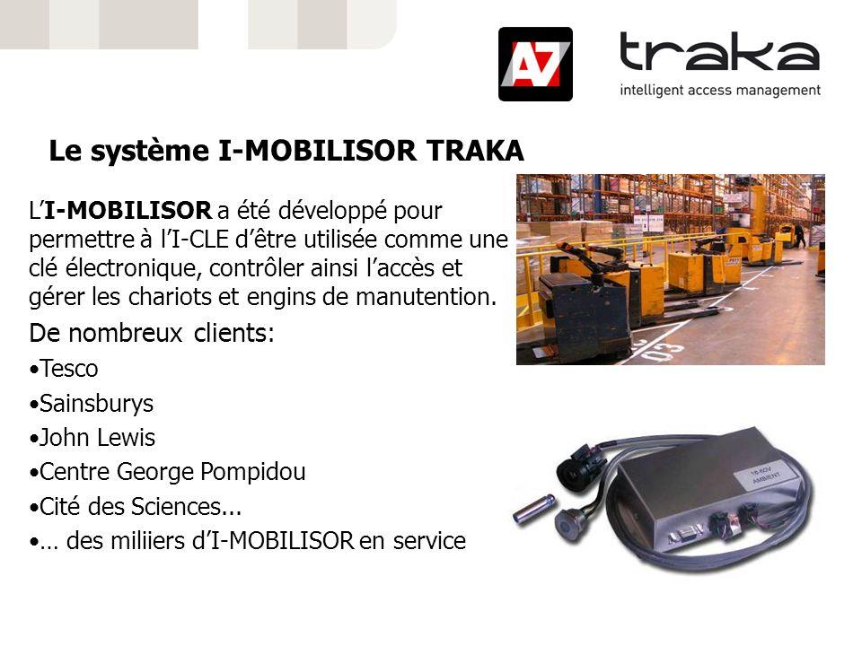 Le système I-MOBILISOR TRAKA