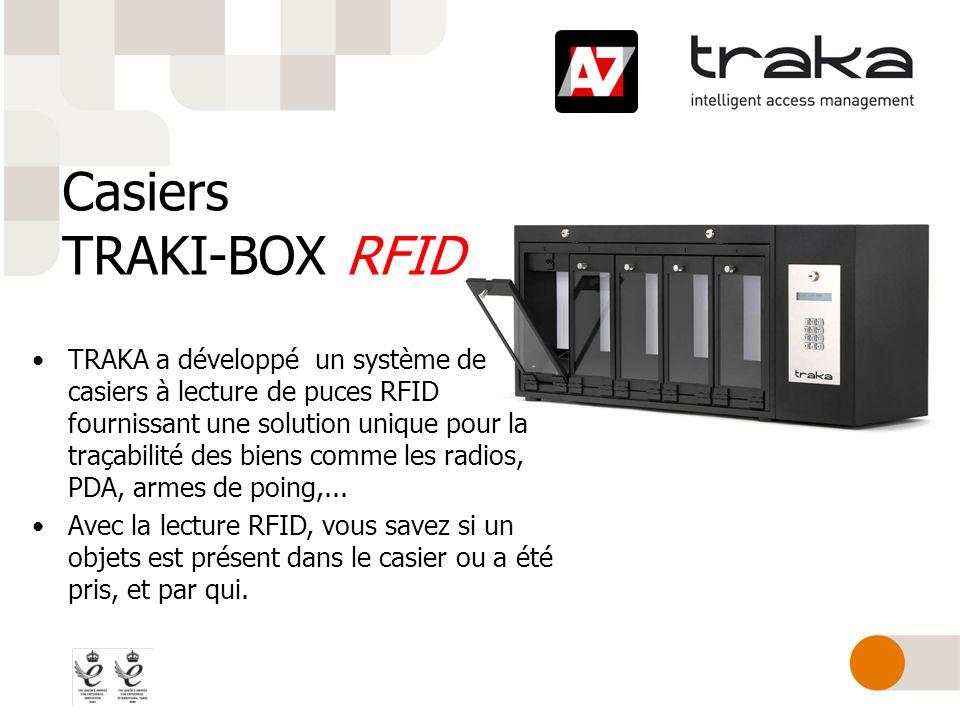 Casiers TRAKI-BOX RFID