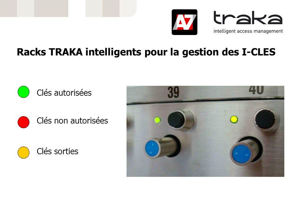 Racks TRAKA intelligents pour la gestion des I-CLES
