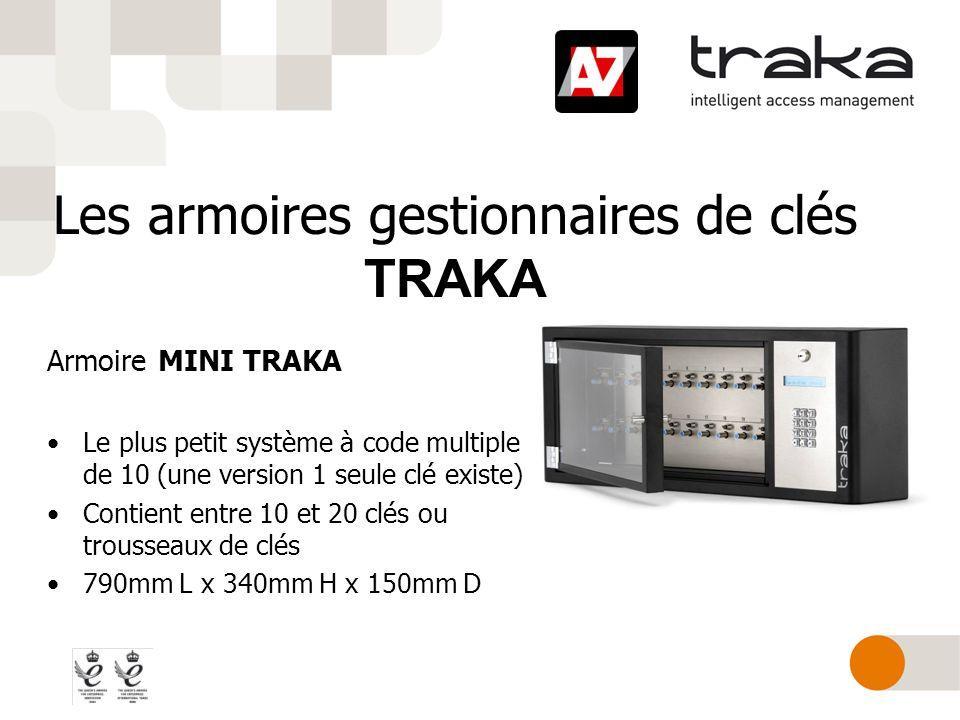 Les armoires gestionnaires de clés TRAKA