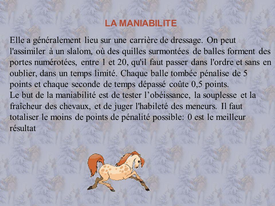 LA MANIABILITE