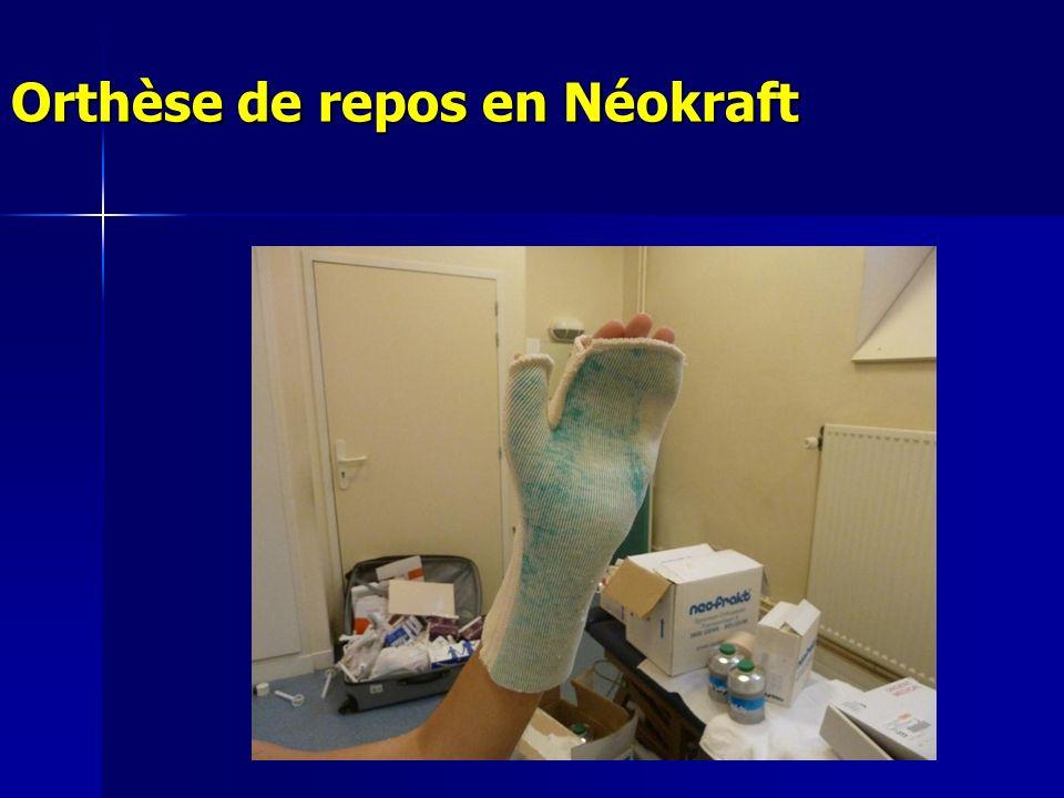 Orthèse de repos en Néokraft