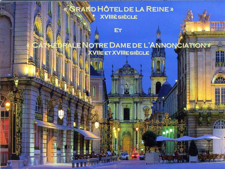 « Grand Hôtel de la Reine »