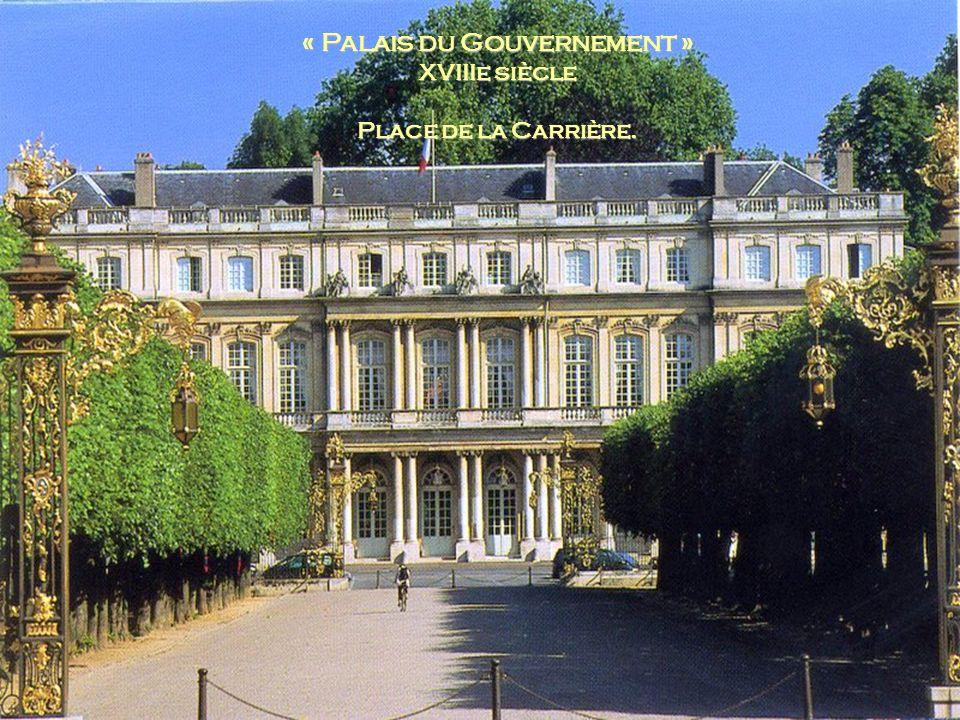 « Palais du Gouvernement »
