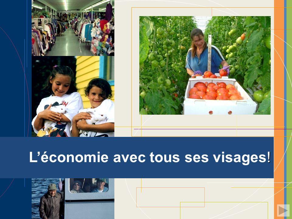 L'économie avec tous ses visages!