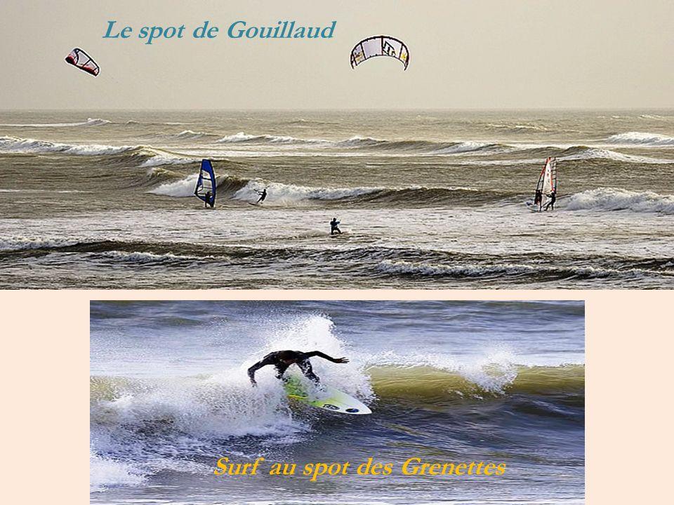 Le spot de Gouillaud Surf au spot des Grenettes