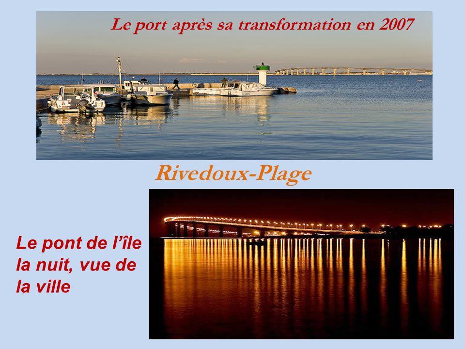 Rivedoux-Plage Le port après sa transformation en 2007